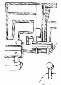 「本日のシュール-影箱的」5、6層(ミリペン画)