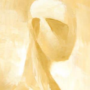 私ではない誰か6(アクリルガッシュ画)