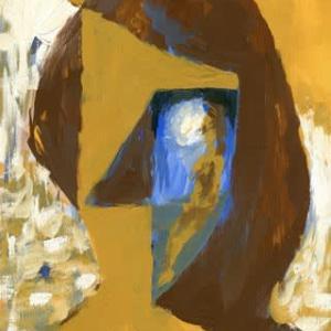 「習作」私ではない誰か65(アクリル画)