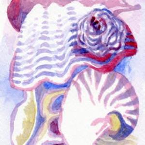 渚のメロディー(アクリル画)