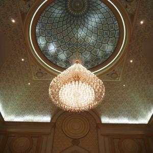 2019年春のUAE(3)ー アル・ワタン宮殿の装飾