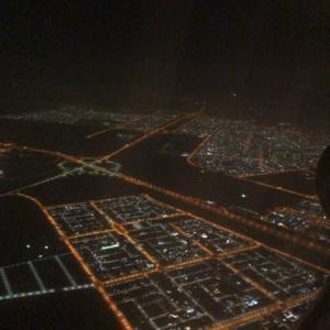 アブダビに到着しました(2021年4月3日)