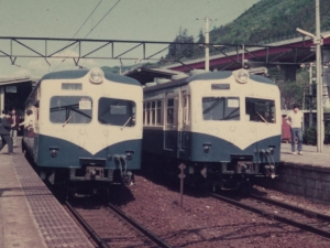 1974年の日本の鉄道(5)相模湖駅の山スカ