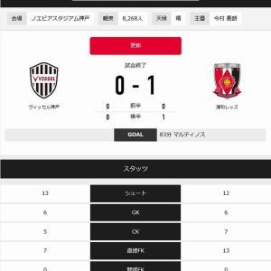 Jリーグ第31節★浦和vs神戸