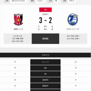 Jリーグ第11節★浦和vs大分