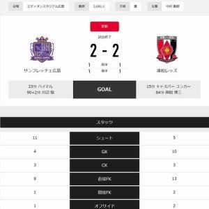 Jリーグ第16節★浦和vs広島