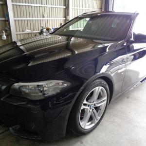 BMW スーパークオーツアクアミカガラスコーティング施工!