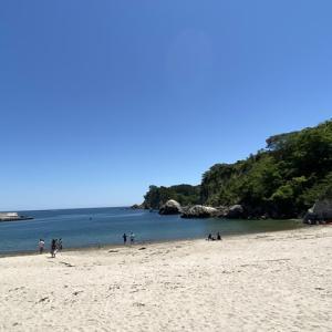 奥松島 宮戸島 月島海水浴場