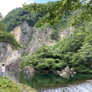 材木岩公園 七ヶ宿町