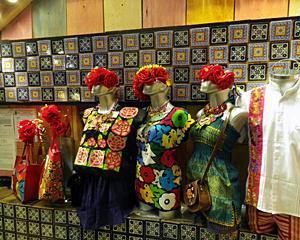 メキシコ南部の刺繍のよう...MEXICOLOR