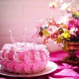 Happy birthday は、まだなんだけど・・・