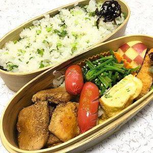 焼き鳥大根菜飯弁当