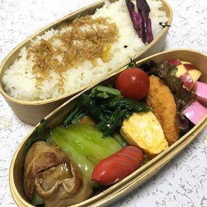 青梗菜と豚肉のオイスターソース炒め弁当
