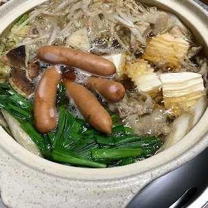 キムチ鍋。椎茸栽培キット