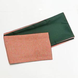 9769回 ポリの巻帯 一分角通(薄紅) 裏・緑