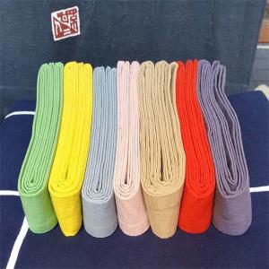 9885回 凧人オリジナル綿紬の袢纏帯
