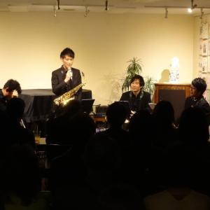 10/19(土)ソワレ Vario Saxophone Quartetto 1st. Live♪