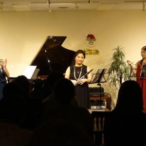 12/3(火) Trio de Regalo コンサート♪