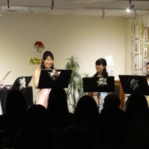 12/14(土)ソワレ Trefle クリスマスコンサート♪