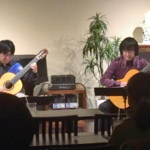 """1/23(木) ギターデュオ""""Las Manos""""LIVE♪"""