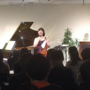 2/11(火・祝) ヴァイオリン&ピアノ Duo Concert♪