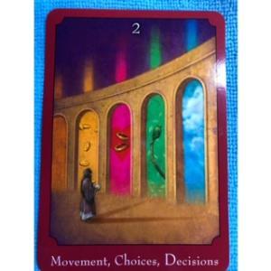 女神の言霊~Movement Choice Decisions 移動、選択、決心~