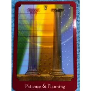 女神の言霊~Patience & Planning 辛抱強さと計画~