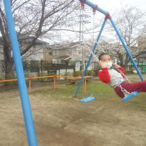 昼過ぎにまたまた公園