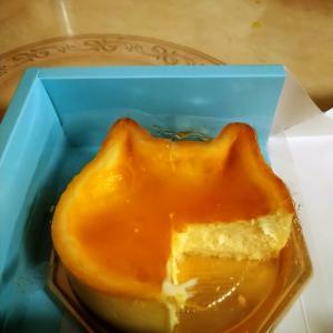 ネコネコチーズケーキです。ネコパンです。