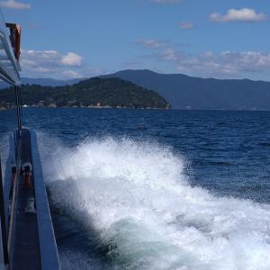 仕事のついでに滋賀県の琵琶湖へ旅行に行きました。
