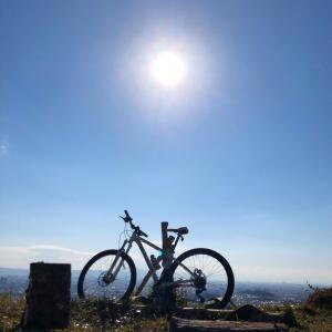 1月13日 高槻 三好山へサイクリング