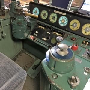 アオシマ EF66 27号機 ニーナ 実機 詳細画像 運転席偏 その2