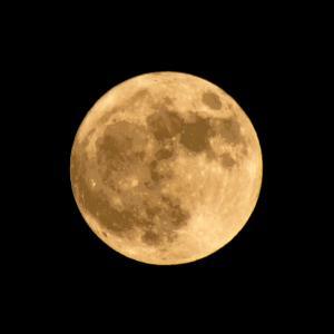 ハロウィン 46年ぶりの満月