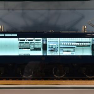 1/45 OJゲージ アオシマ EF66  機械室参考2