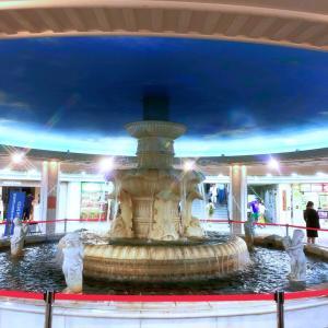泉の広場がお別れ