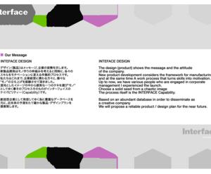 デザインのDNA・Interface company profile renewal(再編集)