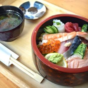 とろける美味しさ!「寿司 まる京」の海鮮丼(奈良もちいどのセンター街「夢CUBE」)