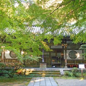 天然記念物のコジイ・ヤマモモに囲まれた王龍寺/毎日新聞「やまと百寺参り」第74回