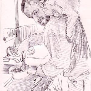 ラフスケッチ(1829)