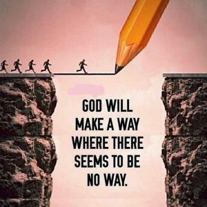 神に頼って克服しよう
