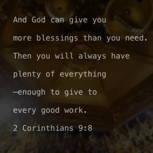 もっと神に期待しましょう