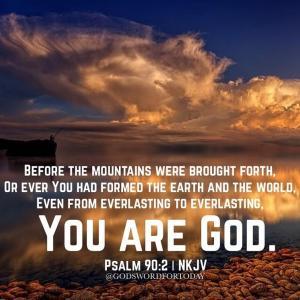 永久に変わらぬ神と永久に生く