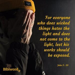 福音の光から逃げないで