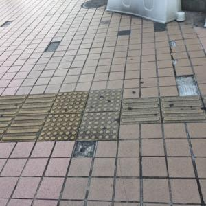 上大岡駅 ユニクロ前 日差しが強く