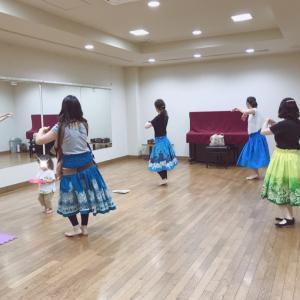 新百合ヶ丘 子連れok フラダンス!