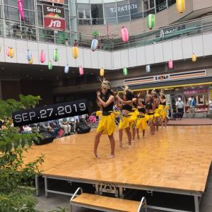 相模大野 小学生タヒチアンダンス!