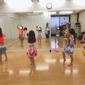 渋谷 タヒチアン!幼稚園・保育園・小学生クラス!