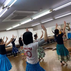 相模大野 フラダンス教室 古典フラ!