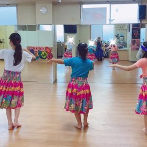 横浜 白楽 神奈川区 小学生フラダンス教室!