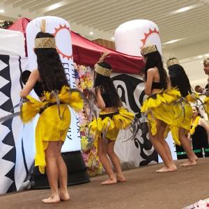 小学生 タヒチアンダンス!